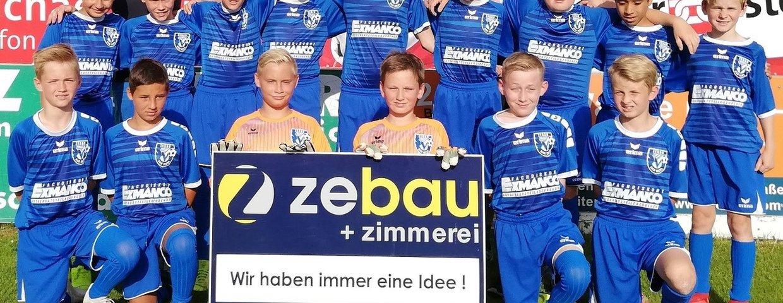 Die U13 des SV Zebau Bad Ischl blickt auf eine erfolgreiche Saison!