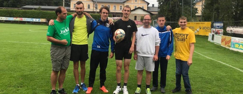 SV Zebau Bad Ischl engagiert sich für wohltätige Zwecke