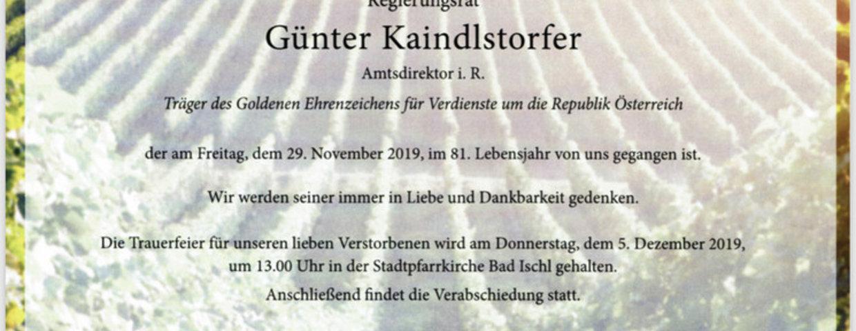 Günter Kaindlstorfer
